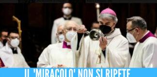 San Gennaro, il miracolo non si ripete
