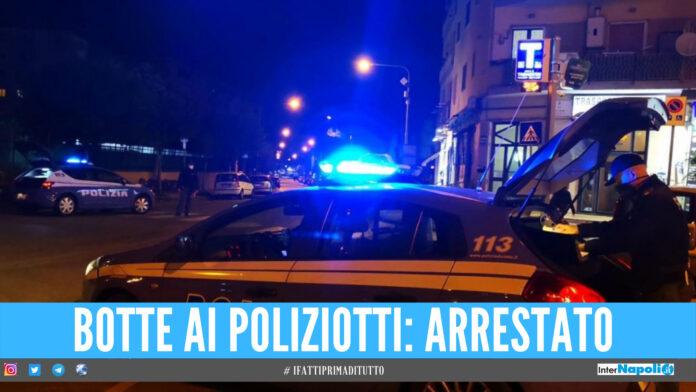Napoli, aperto oltre il coprifuoco: ristoratore aggredisce i poliziotti