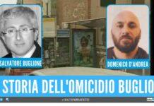 Domenico D'Andrea omicidio storia Salvatore Buglione edicolante
