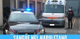 Sangue nel Napoletano, 40enne ferito