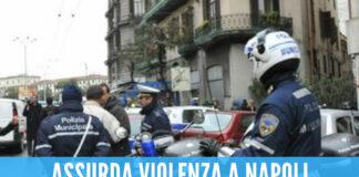 Napoli, vigili aggrediti: arresti e denunce