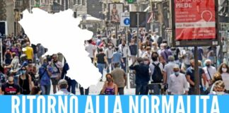 Campania zona bianca