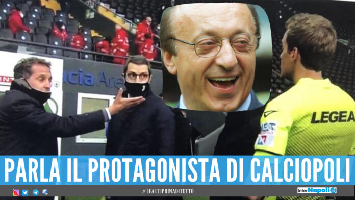 Udinese-Juventus Luciano Moggi episodi arbitrali