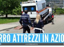 ambulanza napoli sequestrata