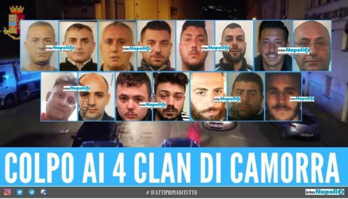 arresti clan camorra formicola reale silenzio rinaldi