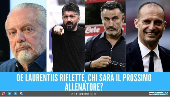 De Laurentiis pensa al futuro, chi sarà l'allenatore del Napoli?