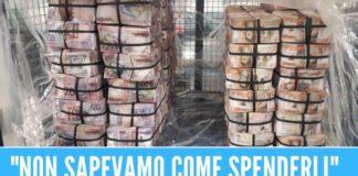 Trovati 6 milioni di euro in contanti a casa, sequestro anti-droga da record