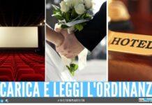 card matrimoni hotel campania spettacoli cinema
