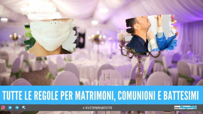 matrimoni cerimonie regole campania matrimoni battesimi
