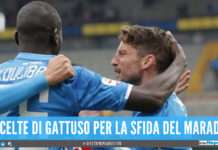 convocati Napoli Udinese