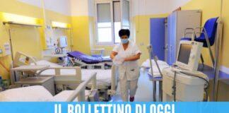 ricoveri campania Bollettino Covid