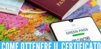 green pass certificato smartphone