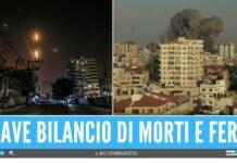 guerra israele palestina bilancio morti