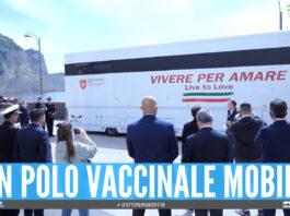 Un polo vaccinale mobile