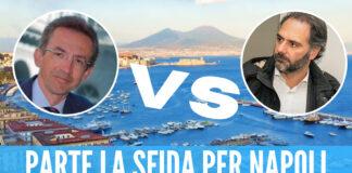 Elezione del nuovo sindaco di Napoli: ufficiali le candidature di Maresca e Manfredi
