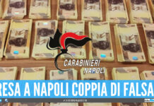 Banconote false a Napoli