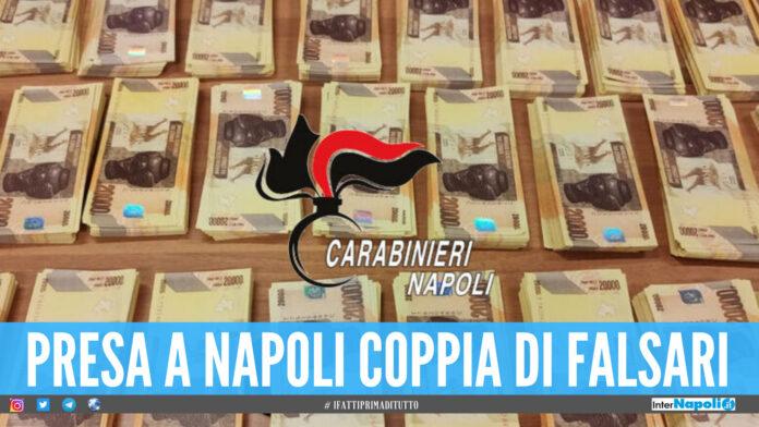 Banconote false a Napoli
