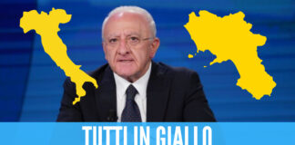 L'Italia tutta in giallo