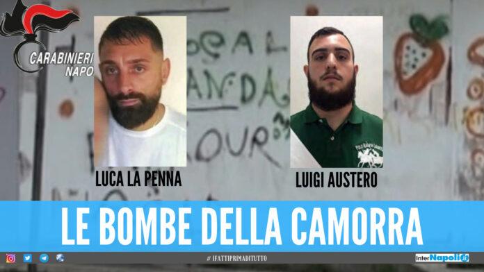 Gli arrestati a Ponticelli