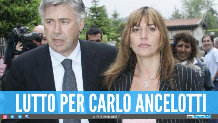 Luisa Gibellini e Carlo Ancelotti