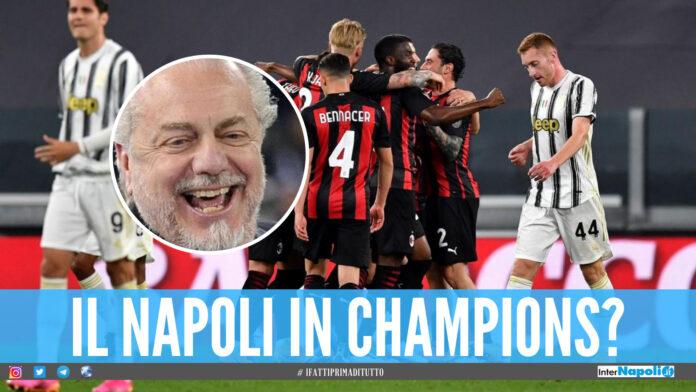 Il Napoli spera nella Champions League