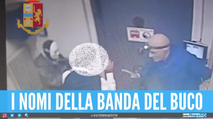 Credit Agricole a Milano banda del buco