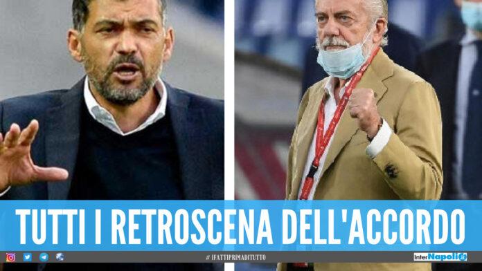 Sergio Conceicao allenatore napoli Aurelio De Laurentiis