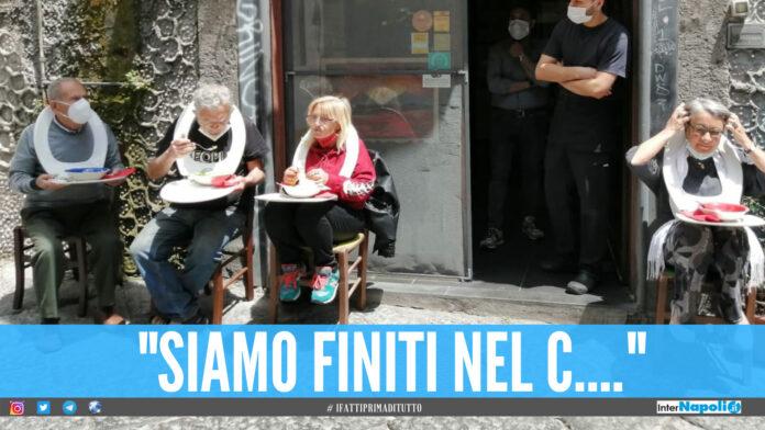 Protesta a Napoli