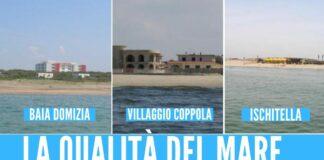mare ischitella baia domizia villaggio coppola spiagge arpac