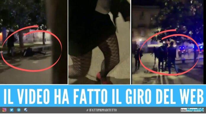 pitbull milano cane sparato carabiniere