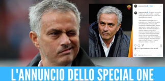 mourinho nuovo allenatore roma