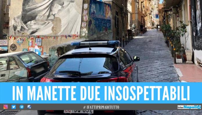 Spaccio di cocaina a Napoli, arrestati 2 incensurati