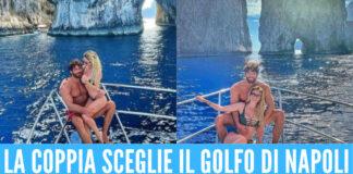 Diletta Leotta e Can Yaman scelgono Capri per rilassarsi in barca