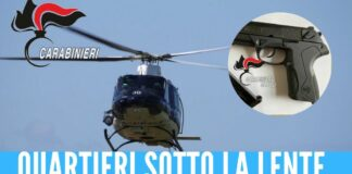 quartieri spagnoli napoli controlli elicottero
