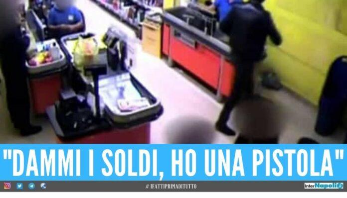 rapina md polizia