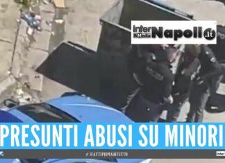 scampia abusi minori vele celeste napoli polizia
