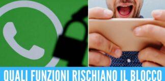 whatsapp 15 maggio blocco