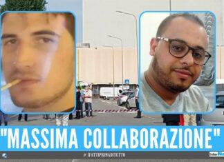 Alessio Spasiano e Adil Belakhdim camionista