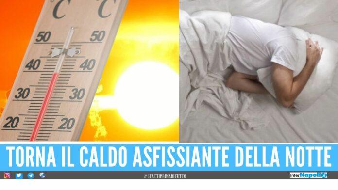 Arrivano altri 3 giorni roventi, Campania nella morsa delle ondate di calore