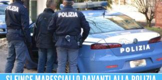 Polizia arresta finto maresciallo ad Afragola, ha speronato la volante e tentato la fuga