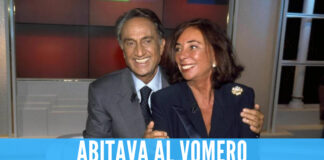 Emilio Fede e la moglie Diana De Feo
