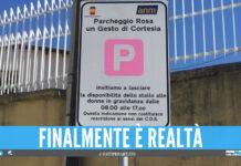 Parcheggio rosa per le avvocatesse incinte a Napoli