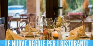 Regole per i ristoranti