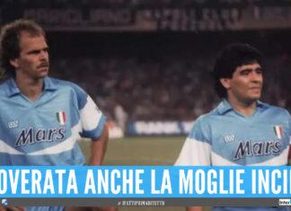 Alemao e Diego Armando Maradona
