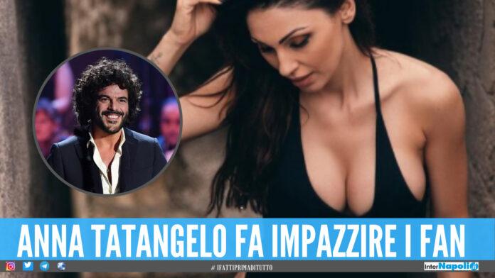Anna Tatangelo, foto in costume su Ig: il commento di Francesco Renga scatena il gossip