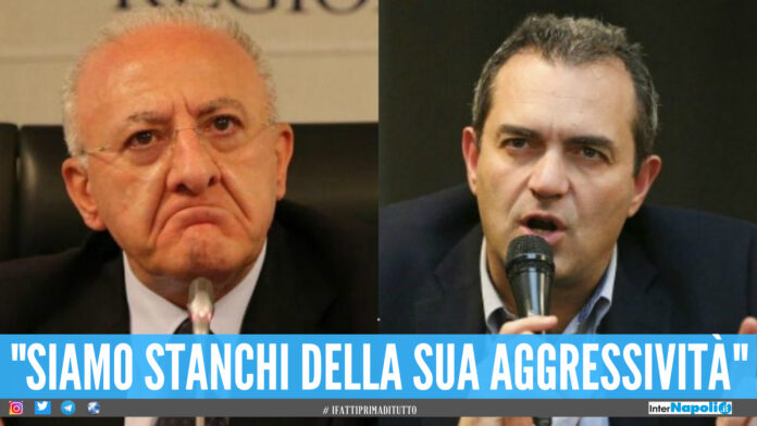 Vincenzo De Luca e Luigi de Magistris