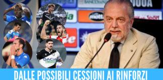 Calciomercato Napoli De Laurentiis Luciano Spalletti