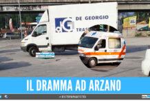 Tragedia sulla rotonda di Arzano, colto dal malore mentre andava a lavoro