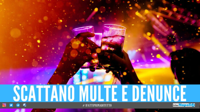 Ancora una festa abusiva a Napoli, scoperte 96 persone su una terrazza