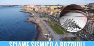 Trema la terra a Pozzuoli, registrate 30 scosse di terremoto nella notte